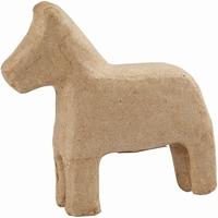 Creotime CCH510730 Papier mache Paardje (Dala paardje) 14 cm