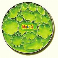 Makin's Clay uitsteekvormen in blik,1050 Bloemen/blaadjes