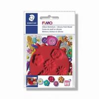 FIMO siliconen duwvorm 8725-22 Bloemen