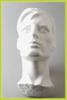 Styropor hoofd met vlakke achterkant man21349-07