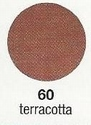 Artidee pigment poeder voor gips/voeg 71511.60 Terra Cotta 100 ml