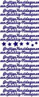 Stickervel F&F 512 Prettige Kerstdagen/Gel.Nieuwjaar GOUD