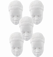 Masai art.0179 gezichtjes Caras, set van 5 stuks