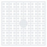 Pixelmatje 100 wit