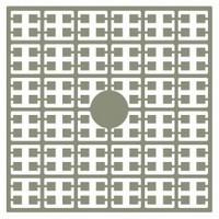 Pixelmatje 108 peper grijs