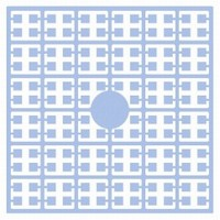 Pixelmatje 109 licht duivenblauw