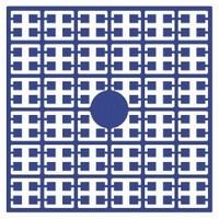 Pixelmatje 110 donker korenbloemblauw