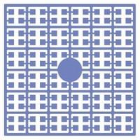Pixelmatje 112 duivenblauw