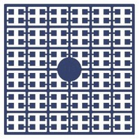 Pixelmatje 113 donker wedgewood blauw