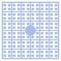 Pixelmatje 114 heel licht babyblauw