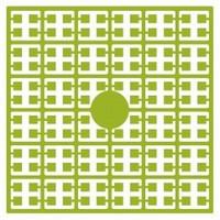 Pixelmatje 118 licht mosgroen