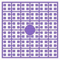 Pixelmatje 122 donker lavendel