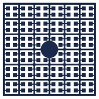 Pixelmatje 136 donker poolblauw