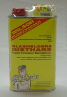 Giethars glashelder Wilsor inclusief verharder