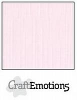 Linnenkarton Baby Roze 250grams Craftemotions 001232_1160