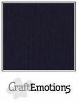 Linnenkarton Zwart 250grams Craftemotions 001232_1350