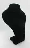 Sieradendisplay voor lange halsketting 32cm hoog fluweel