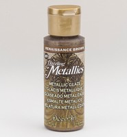 Deco Art Metallic Glaze DGM01 Renaissance Brown 59ml/2oz