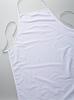 Katoenen schort wit zonder zak art. 4012, volwassene90x60cm 90x60cm