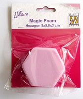 Nellie's Choice Magic Foam NMMF005 Hexagon 5,8x5,8cm