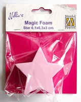 Nellie's Choice Magic Foam NMMF007 Star 6,1x6,3cm
