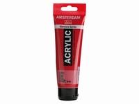 Amsterdam standard acrylverf 120ml;318 Karmijn rood