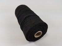 Katoen macrame touw spoel nr.16 890030_1603 Zwart
