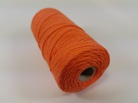 Katoen macrame touw spoel nr.16 890030_1605 Oranje