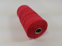 Katoen macrame touw spoel nr.16 890030_1606 Rood 1,5mm/110meter