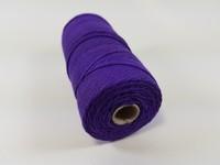 Katoen macrame touw spoel nr.16 890030_1608 Paars
