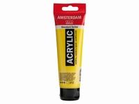 Amsterdam standard acrylverf 120ml:272 Transp.geel mid.