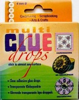 Multi Glue Drops 4mm-110stuks JeJe3.3154
