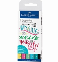 Faber Castell 267116 Pitt Artist Pens ''Be Unique''