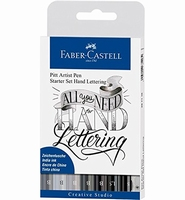 Faber Castell 267118 Pitt Artist Pens ''All You Need for Han