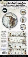 Krimpfoliie Sleeves SHRINKFF01 Frozen Forest (Kerst) 26x7cm/4stuks