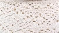 Kant wit katoen 3cm breed, lengte 270cm art. 504-4030