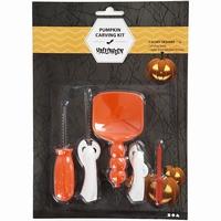 Pumpkin Carvin Kit Halloween set 5 delig