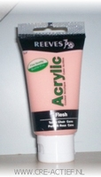 Reeves acrylverf Flesh  8340210 75ml
