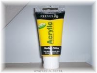 Reeves acrylverf Medium Yellow 8340120