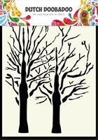 Dutch Doobadoo Mask Art Stencil 470.154.003 Trees A6