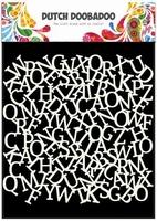 Dutch Doobadoo Mask Art Stencil 470.715.603 Alfabet