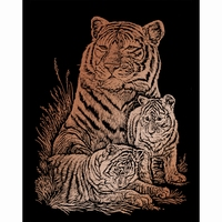 Krasfolie pakket COPF12/QKL270 Copper Foil Tiger and Cubs