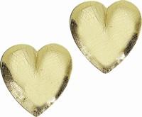 Kaarsen wasdecoratie KP8206220 Hart goud