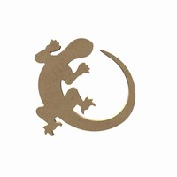 MDF Salamander ca.15cm dikte 5mm GOM487 15x14cm