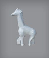 Styropor Giraf 11x18cm Bov.