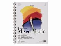 Strathmore 25-411 Mixed Media papier 40vel 160grams