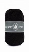 Durable Coral haakkatoen  325 Black