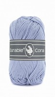 Durable Coral haakkatoen  319 Blue