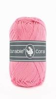 Durable Coral haakkatoen  232 Pink
