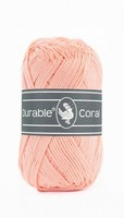 Durable Coral haakkatoen  211 Peach